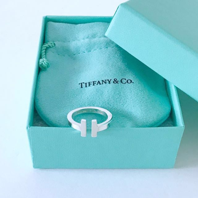 Authentic Tiffany & Co T Ring