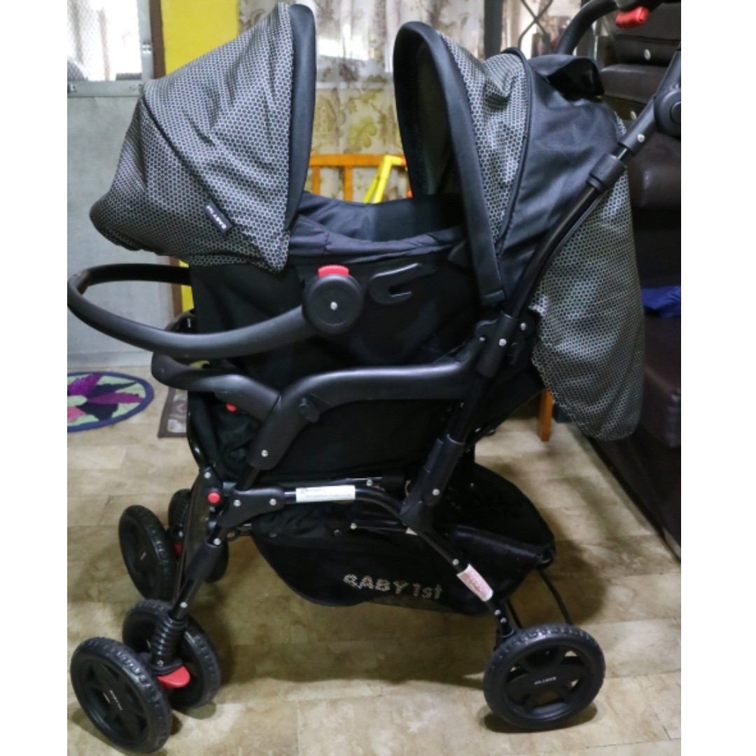 Baby 1st stroller with car seat, Babies & Kids, Prams & Strollers on
