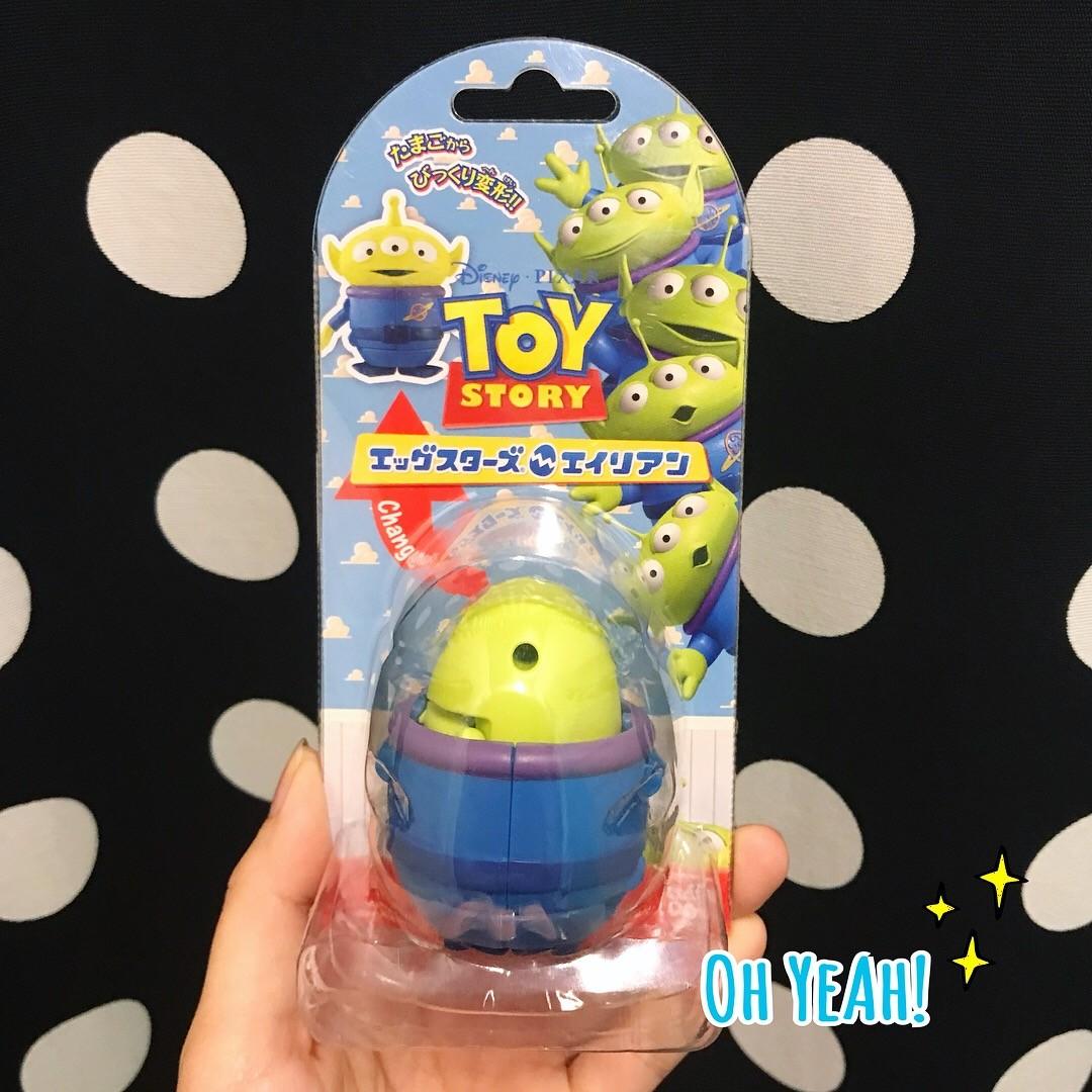 日本🇯🇵『現貨』正版BANDAI出品✨三眼怪變形玩具🤖️ 玩具總動員 三眼怪 收藏 交換禮物 生日禮物 情人節禮物