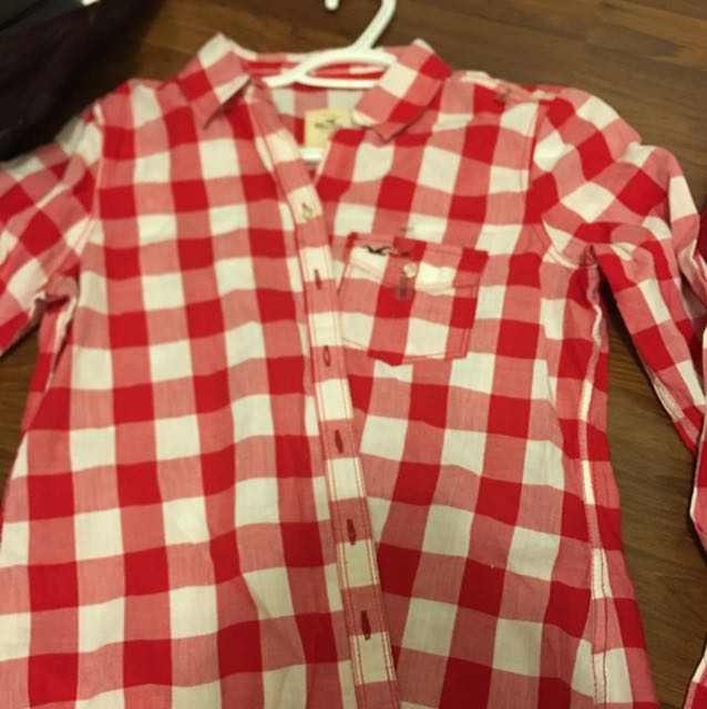 BNWT Hollister plaid shirt