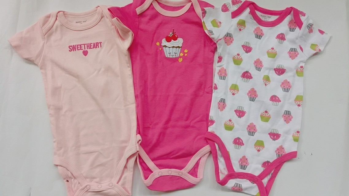 Bodysuits Mother Nest Girl 7-9 Months (Small Cutting)
