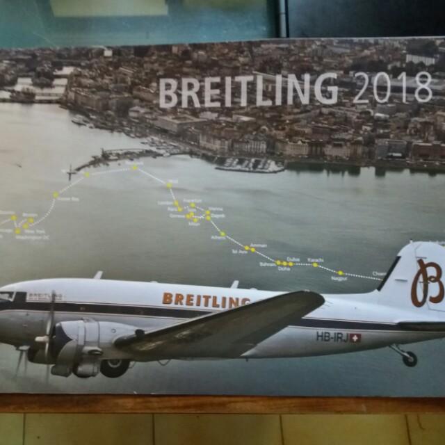 BREITLING 2018年曆