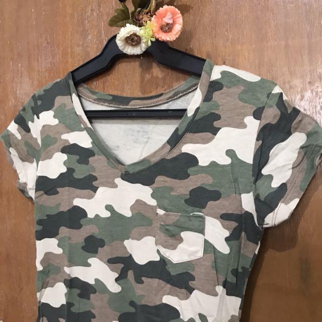 Camouflaged shirt