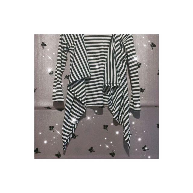 Cardi Layer Stripe