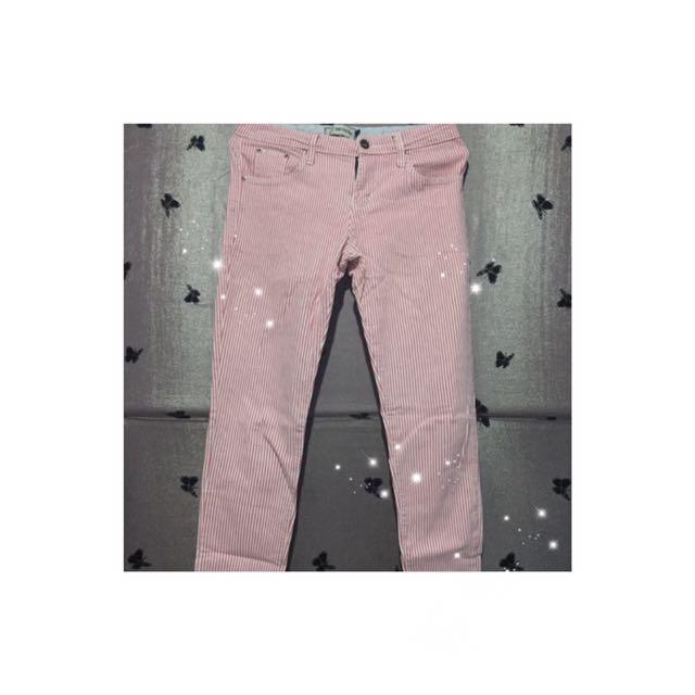 Celana Jeans Stripe Nevada