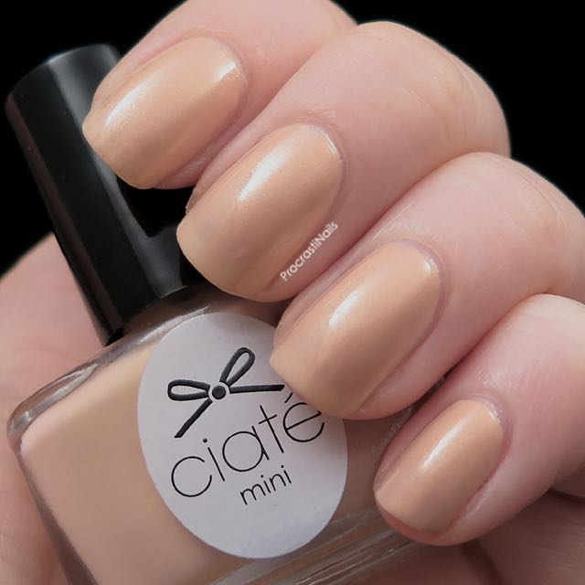 Ciate nail polish Mini paint pot in Ivory Queen, Health & Beauty ...