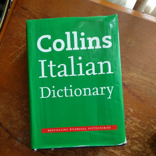 Collins Bilingual Italian Dictionary