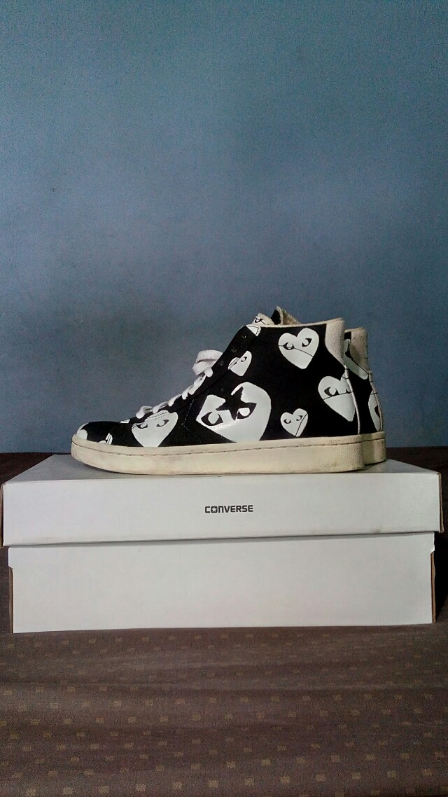 Converse Pro Leather x CDG