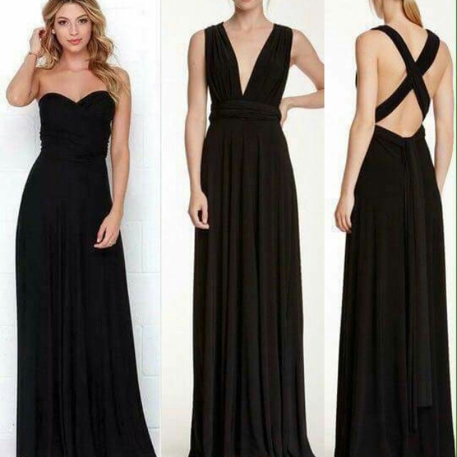 Convertible Long Dress (Infinity Dress)