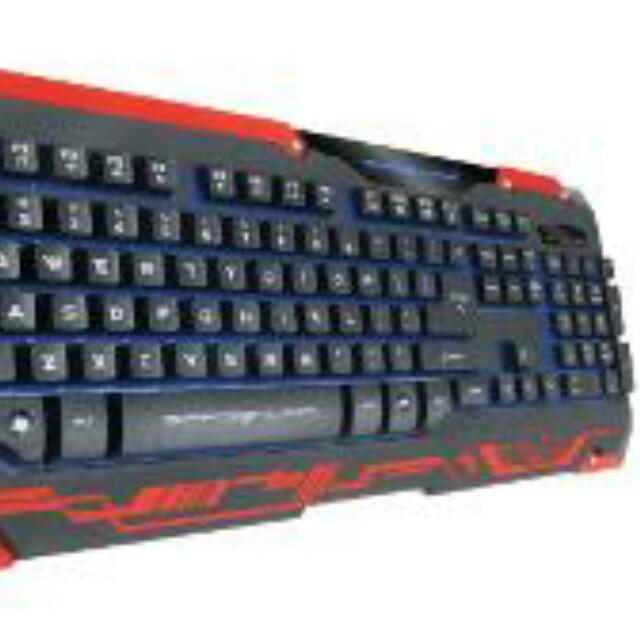 03a1323141a dragon war sencaic gaming mouse keyboard black, Electronics ...