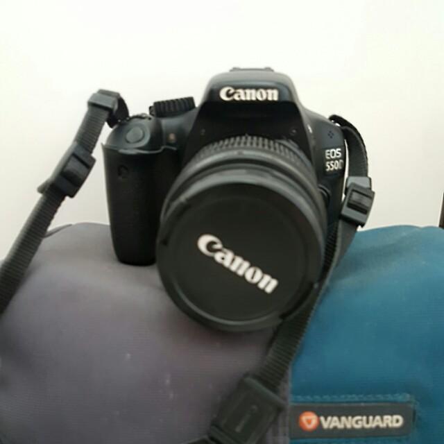 DSLR Canon EOS 550D SECOND