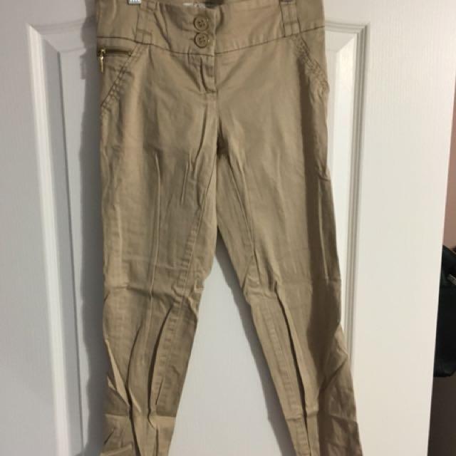 Dynamite beige trousers