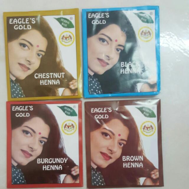 a49f8a1b0c69a Eagle's Gold Henna hair dye, Health & Beauty, Hair Care on Carousell