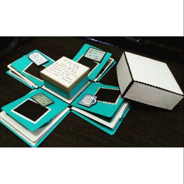 Explosion box / exploding box / gift box #5