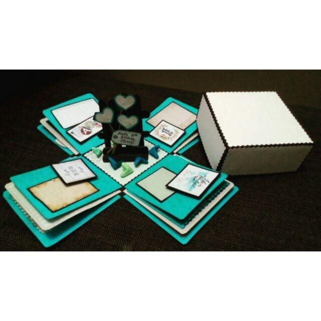 Explosion box / exploding box / gift box #6