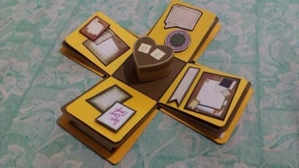 Explosion box / exploding box / gift box #7