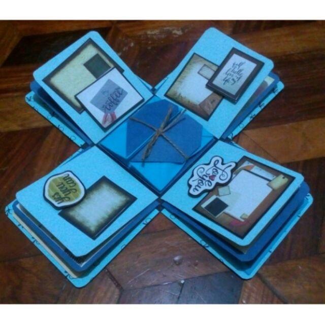 Explosion box / exploding box / gift box #8