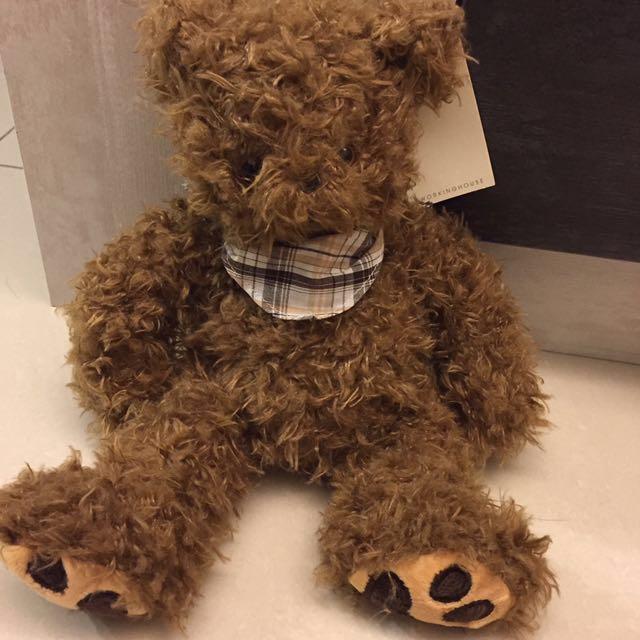 Family zoo 12吋咖啡QQ熊