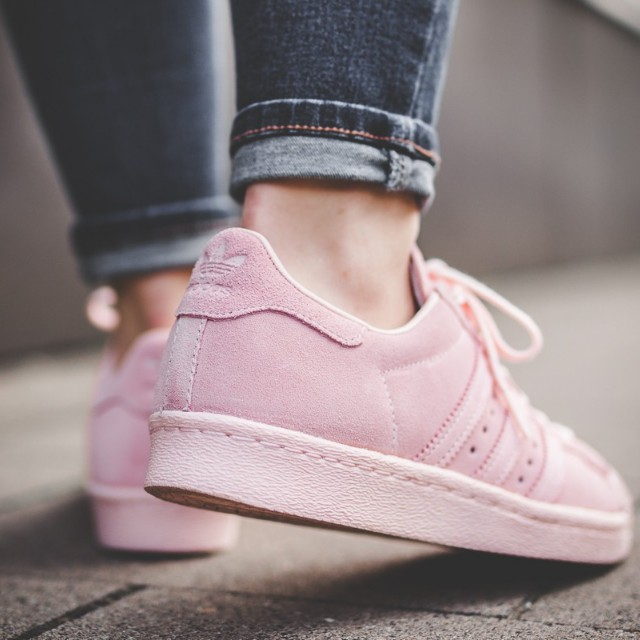 buy popular c43d1 7bbed FAST!!) Adidas Superstar 80s Metal Toe W Icy Pink, Women's ...