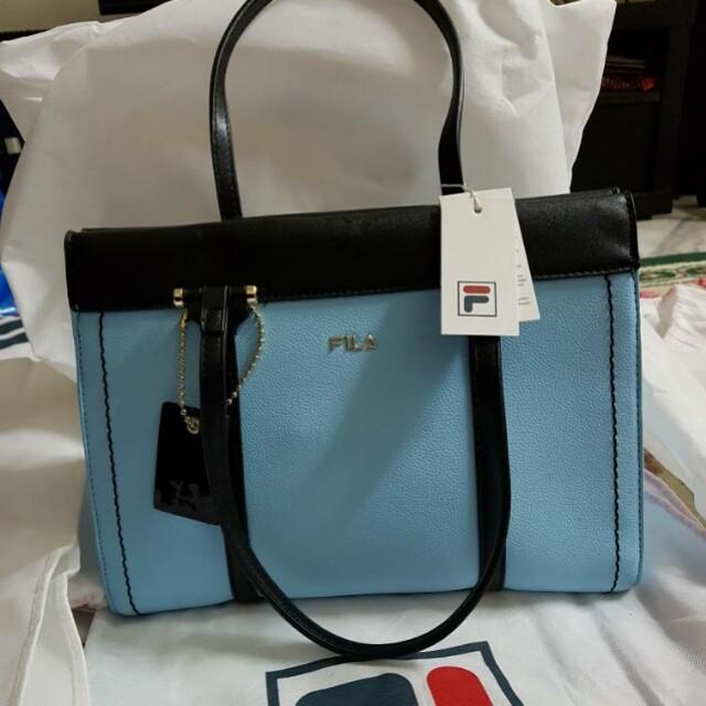FILA Blue Handbag Authentic 720f426b117dd