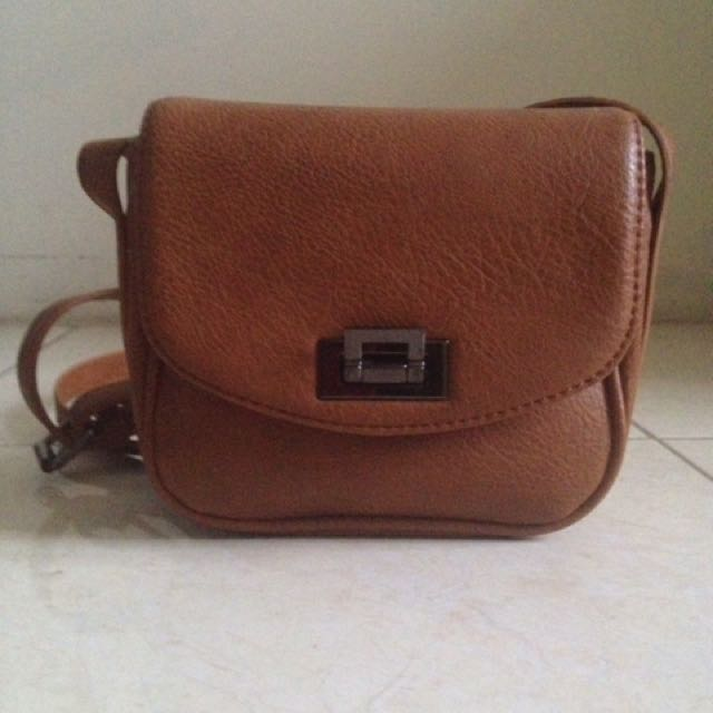 Forever 21 leather bag