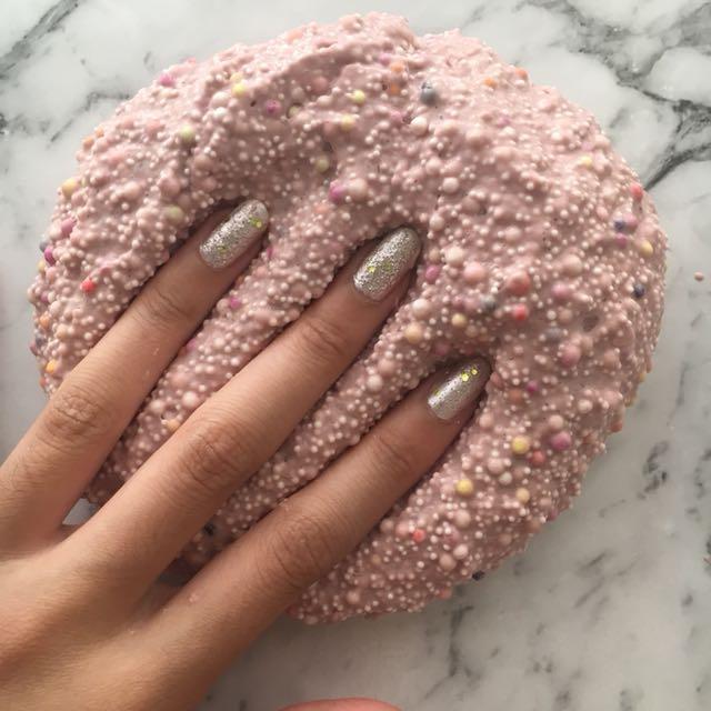 Funfetti Surprise Slime - Multicoloured Floam Beads, Crunchy