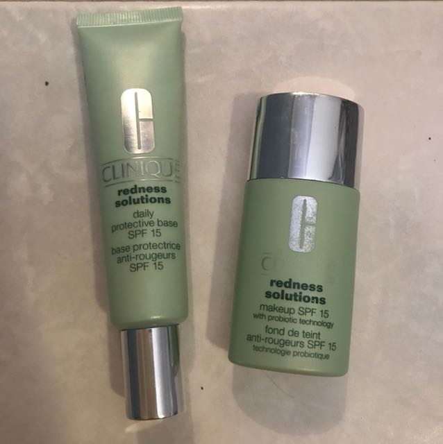 Genuine Clinique red solutions