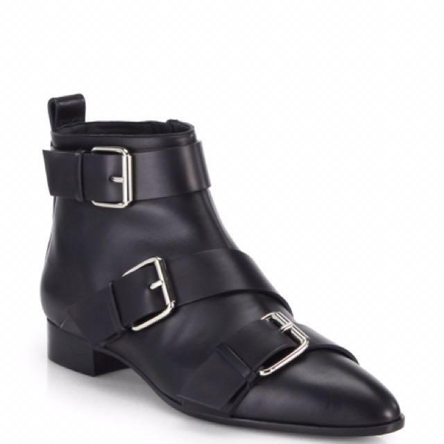 最後出清!Giuseppe Zanotti Buckle Boots 扣環短靴