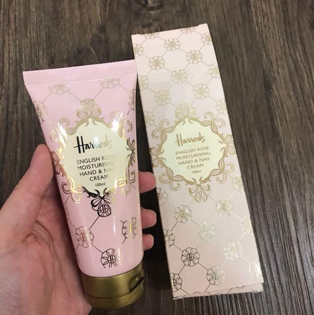 Harrods - English Rose Hand & Nail Cream