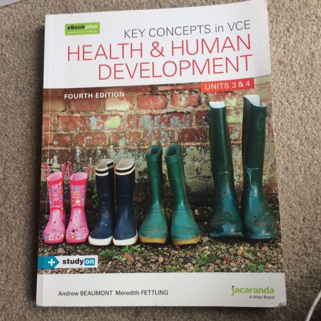 Health and human jacaranda text book