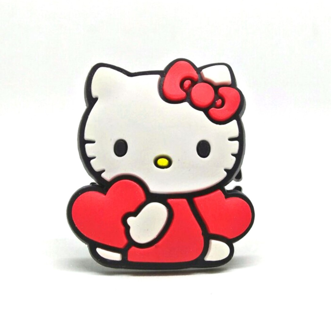 10ae65007 Hello Kitty CORD HOLDER Cable Winder for earphones (HELLO KITTY BODY) on  Carousell