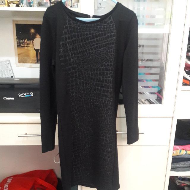 [H&M] Black Dress