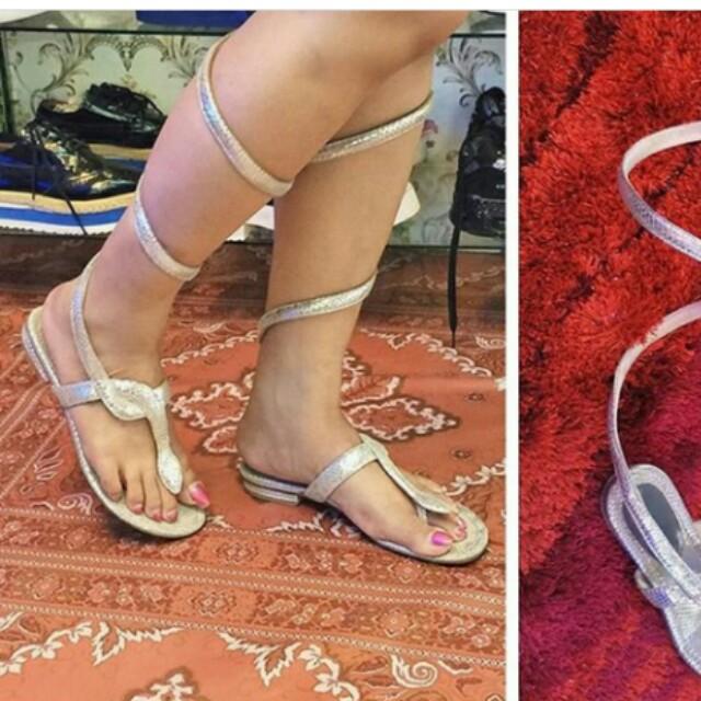 Jimmy choo snake sandals