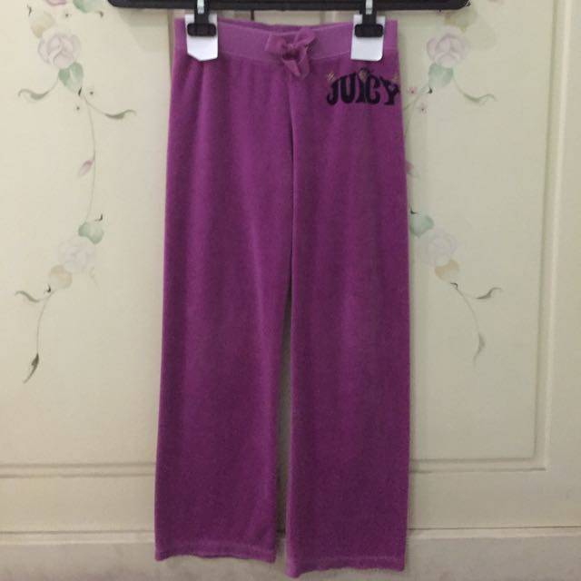 Juicy Couture Tracksuit Velvet Pants