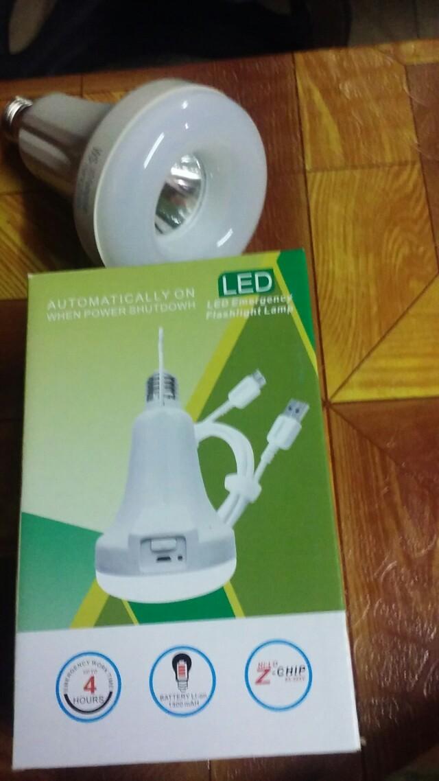 LED Emergency flashligth lamp