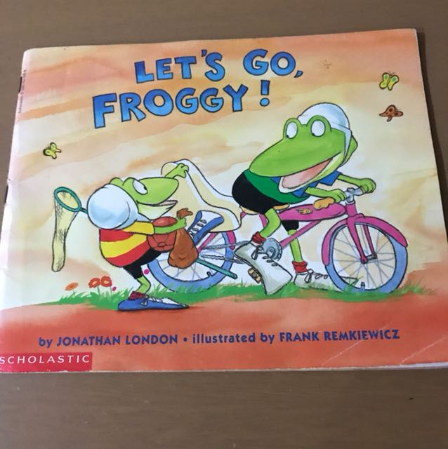lets go froggy