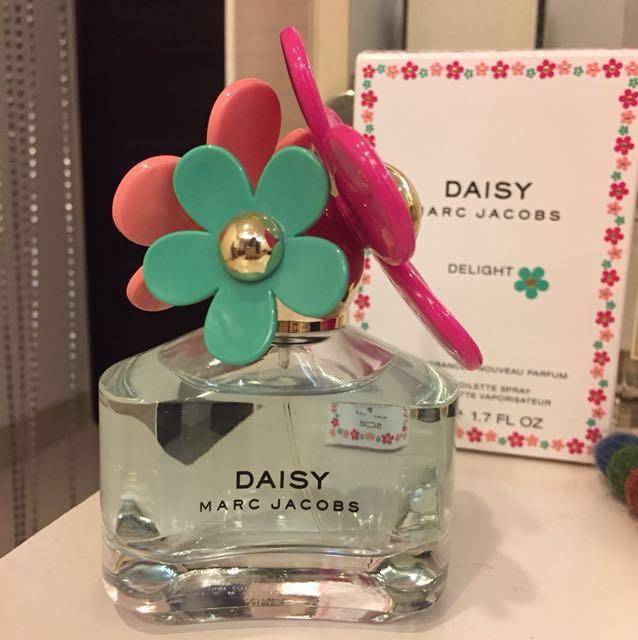 Marc Jacobs DAISY 香水 delight 50ml淡香清新自然