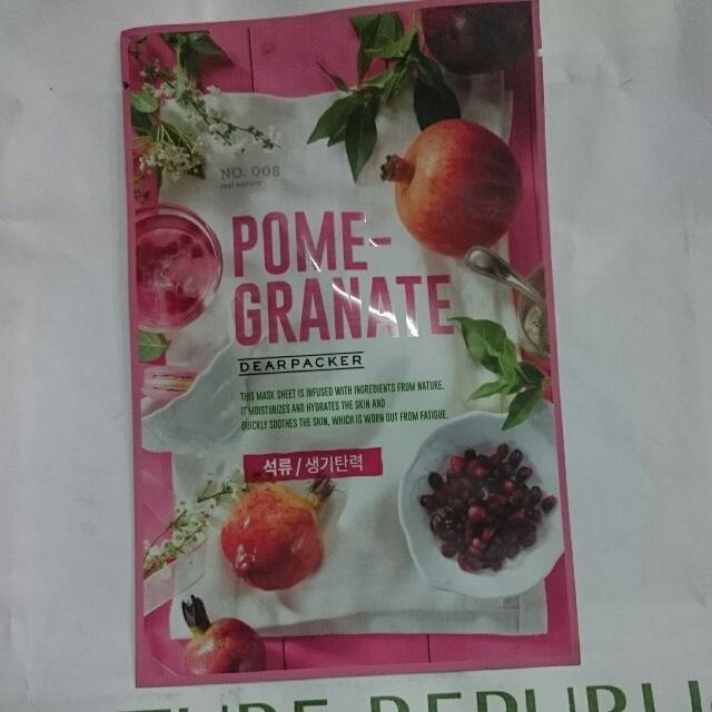 Masker Pomegranate