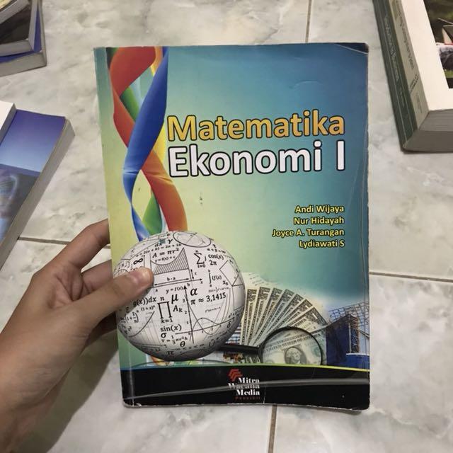 Matematika ekonomi 1  andi wijaya nurhidayah