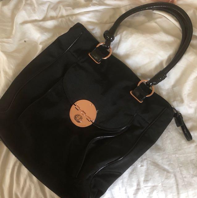 Mimco Rose Gold Bag