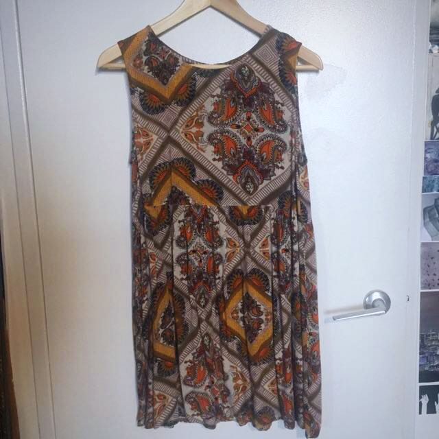 MINKPINK x UO Babydoll Summer Boho Dress