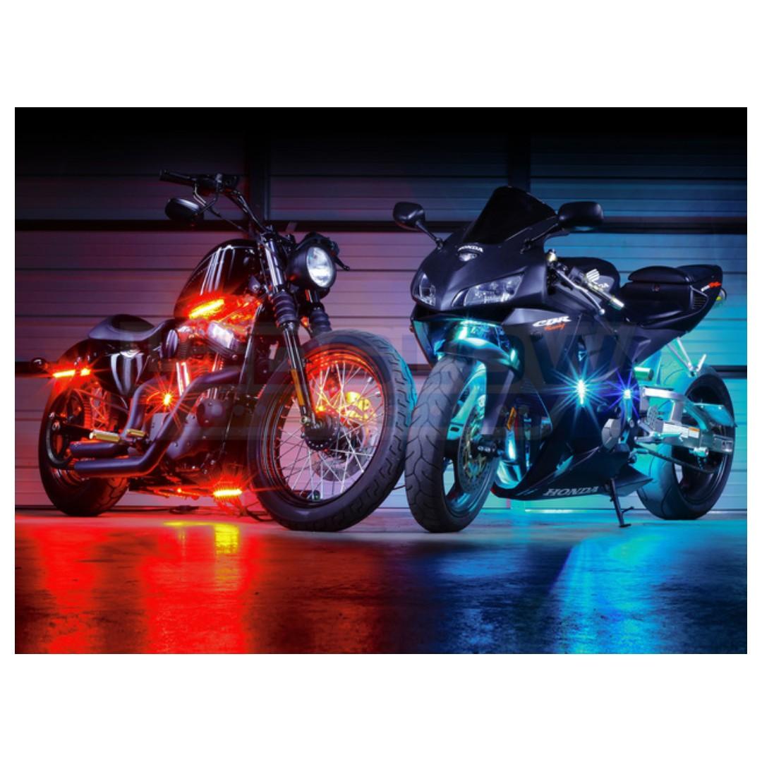Motorbike led strip lights motorbikes motorbike accessories on photo photo mozeypictures Gallery