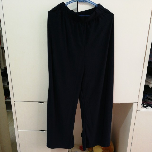 SALE! Navy Blue Palazzo / wide leg pants
