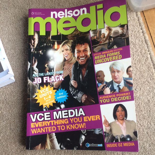 Nelson media jo flack VCE textbook