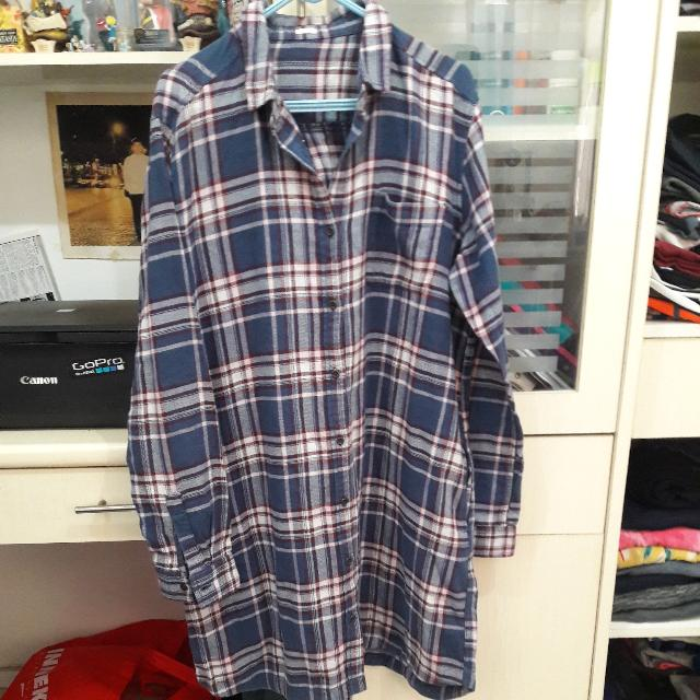 [NON BRANDED] Flannel Shirt