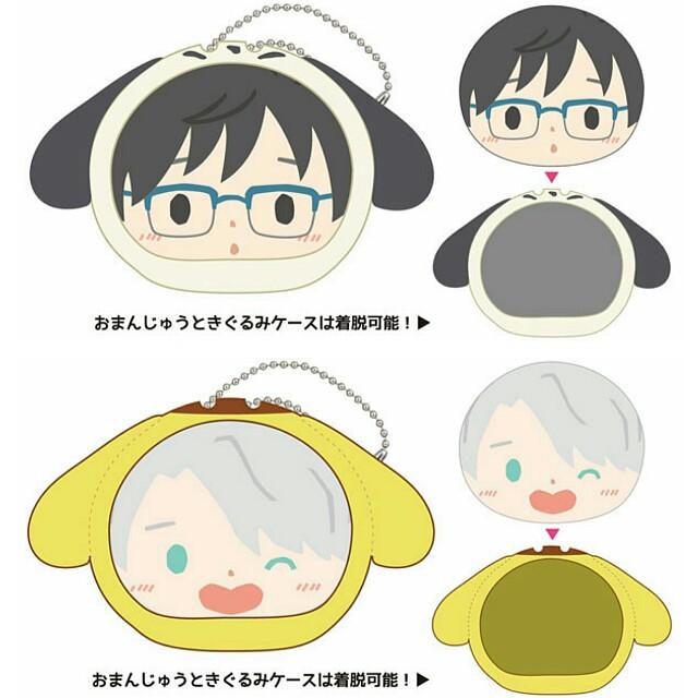 [OFFICIAL] [Pre-Order] Yuri on Ice x Sanrio Characters - Omanjuu Niginigi Mascot
