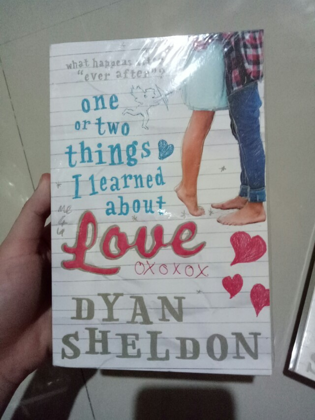 One or two things I learned about love dylan sheldon