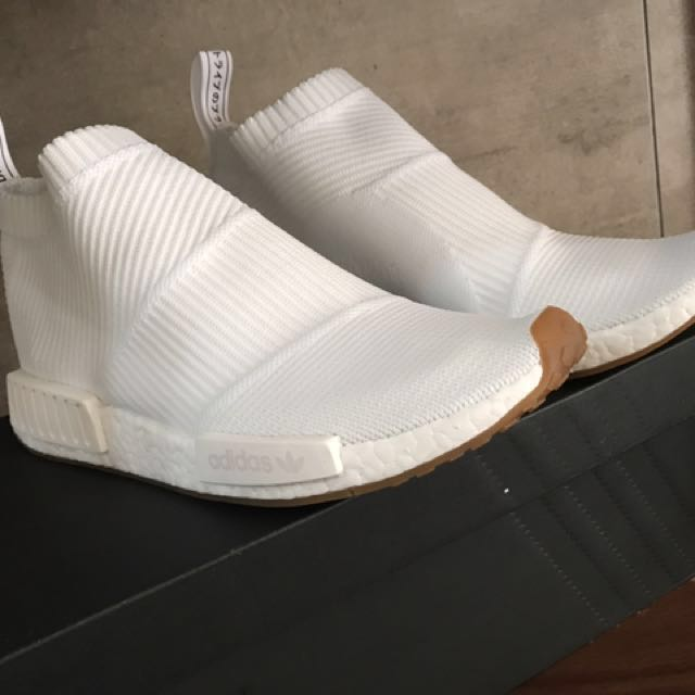 huge selection of 7fac4 00bc5 ORIGINAL NMD CITY SOCK WHITE GUM
