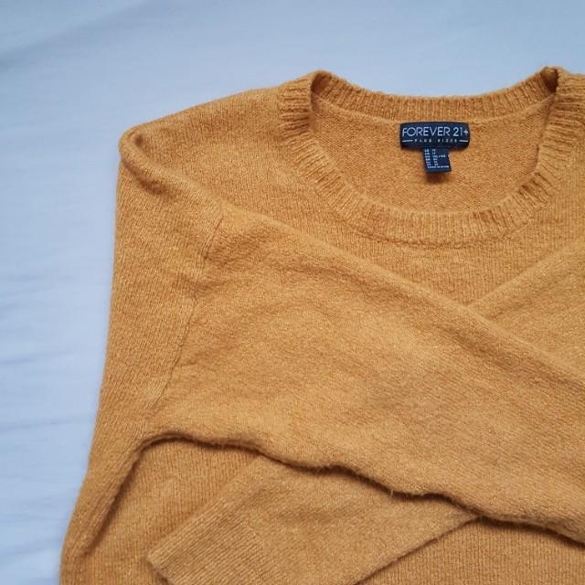 *REDUCED* oversized mustard sweater