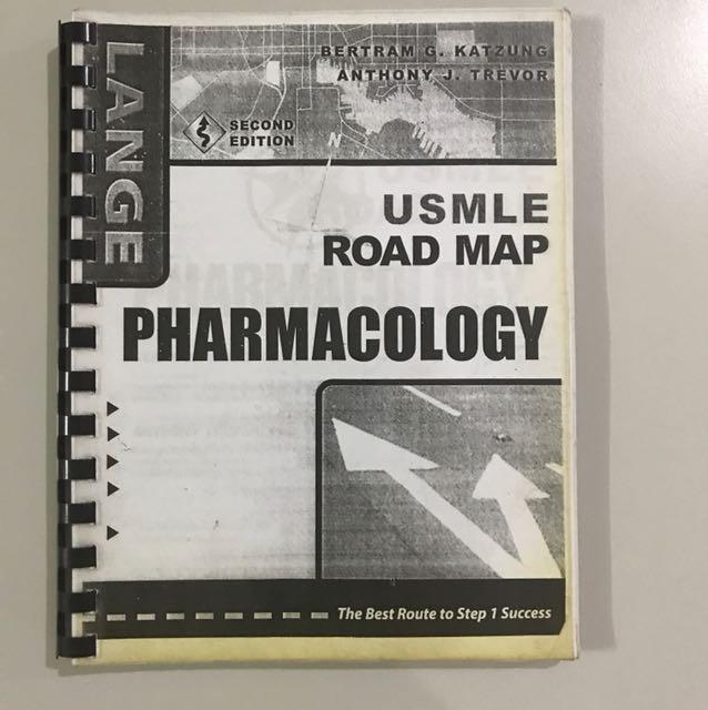 Pharmacology Roadmap Katzung Usmle Textbooks On Carousell